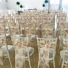 chair cover hire bedford